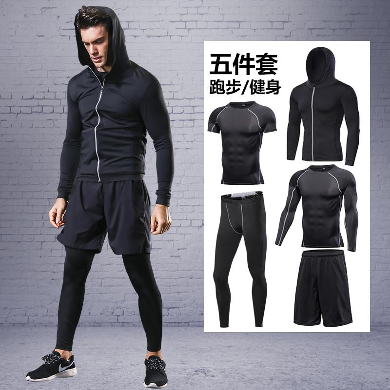 裤子胖胖健身衣大码日版运动装运动型夏季运动服套装男薄透气套头