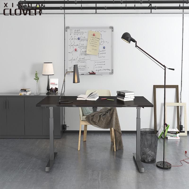 新達高梵電動升降電腦桌智能站立式辦公桌員工單人可調節臺式書桌