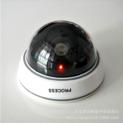 Decorative anti-theft camera home simulation camera fake monitoring outdoor rainproof outdoor monitoring model decoration