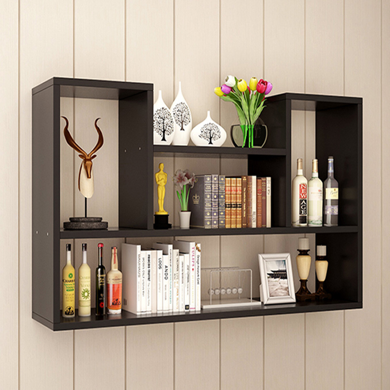 Wall Shelf Wall Hanging Can Be Free Of Perforated Wall Frame Bedroom  Partition Wall Hanging Cabinet ...