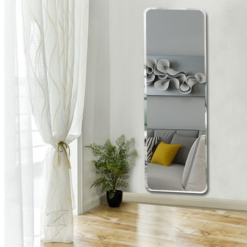 穿衣镜全身定做墙大镜子服装店尺寸家用镜试衣v全身粘贴镜定制壁挂