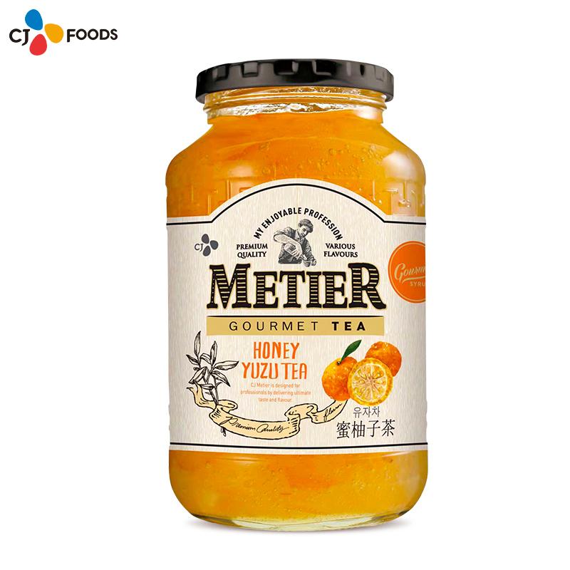 希杰蜜蒂尔蜂蜜柚子茶1kg*1瓶