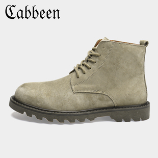 [CABBEEN flagship store] Gao Bang plus velvet Martin boots
