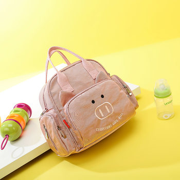 Stylish mom bag 2020 new multifunctional cross-body small size outward hand bill of lading shoulder portable mother and baby bag for women
