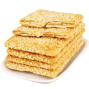 无蔗糖芝麻脆饼饼干千层酥