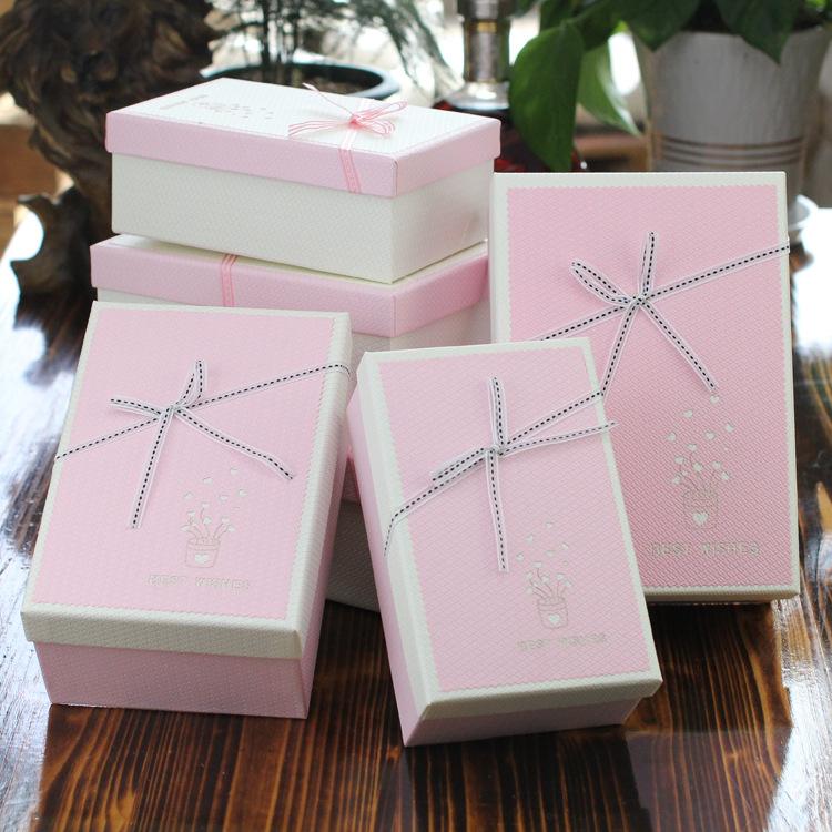 七夕礼品盒生日情人包装盒礼盒元旦新年节日礼物v生日盒子礼物