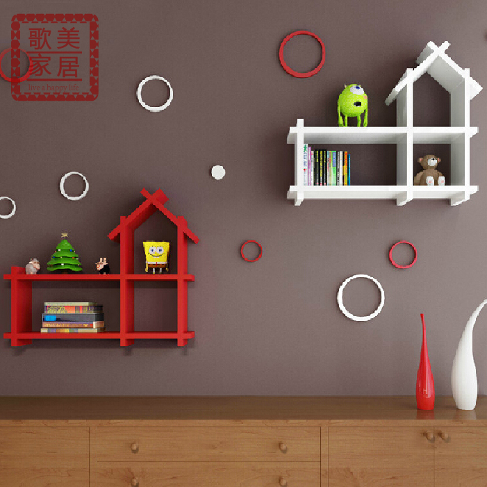 Usd 24 13 Small House Shelf Partition Wall Shelf Shelf Set Shelf Children S Room Background Decoration Rack Kindergarten Children S Clothing Store Decoration Wholesale From China Online Shopping Buy Asian Products Online