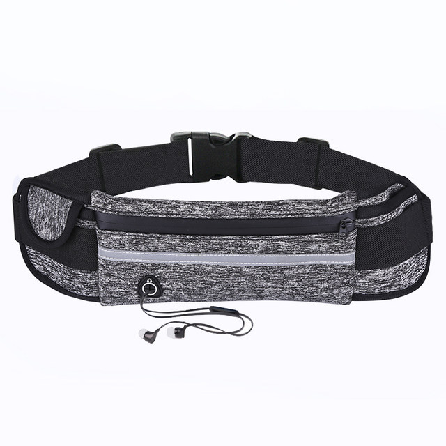 Sports pockets multifunctional running mobile phone bag men and women fitness outdoor water bottle bag invisible close leisure small waist bag