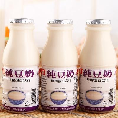 台湾特产正康纯豆奶12瓶