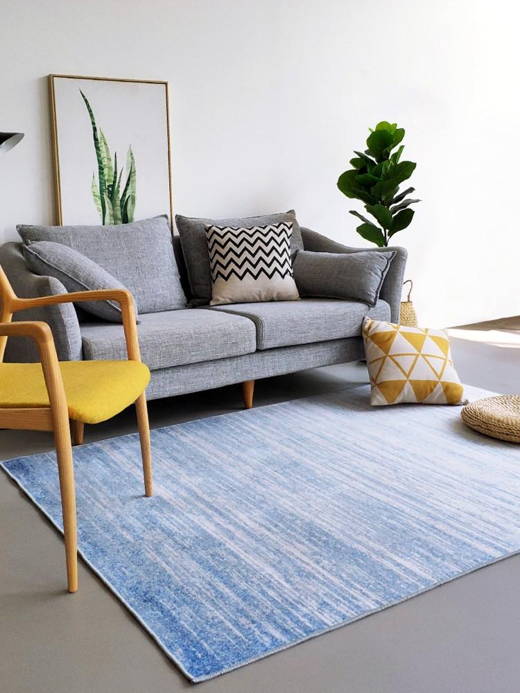 北欧卧室地毯简约现代地垫几何沙发日式摩洛哥客厅ins茶几床边毯