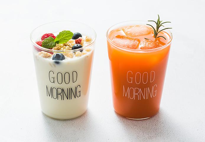 好看的早餐杯,唤醒一天的活力