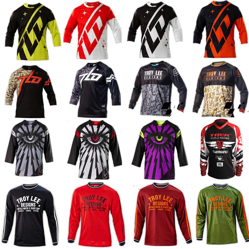 Tld surrender service mountain bike bike Jersey short-sleeved shirt men summer cross-country motorcycle clothing T-shirt