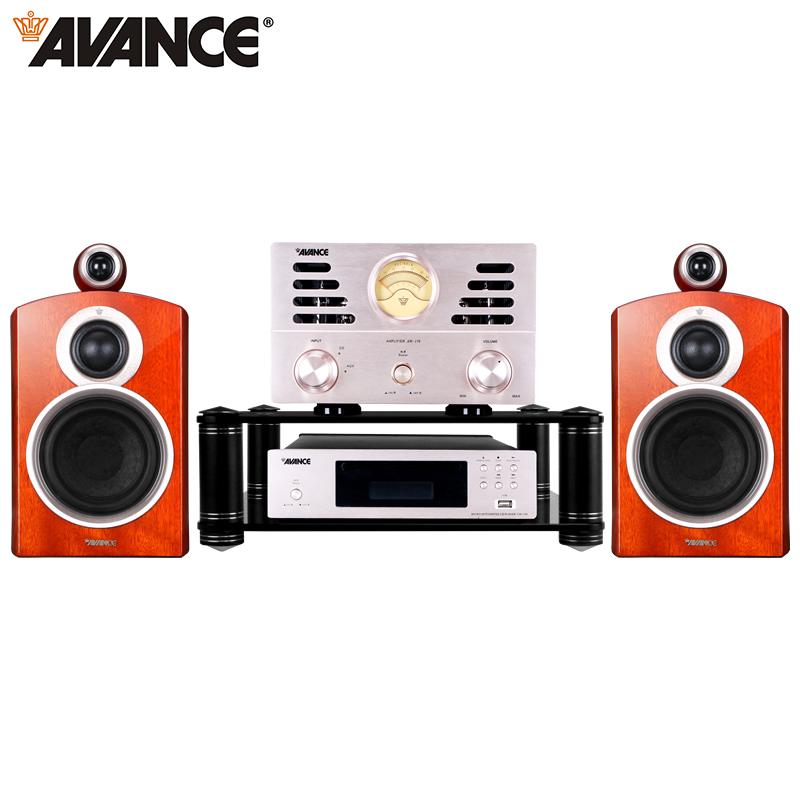 丹麥皇冠AVANCE ADV170升級AW170組合音響電子管音箱USB藍牙膽機