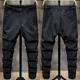 Quần đen nam phiên bản Hàn Quốc của xu hướng quần nam 2020 quần mới giản dị nam chân thon nhỏ đơn giản - Quần mỏng