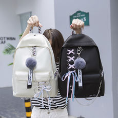 Backpack female 2018 new bag female Korean version Harajuku ulzzang high school students junior high school students backpack campus
