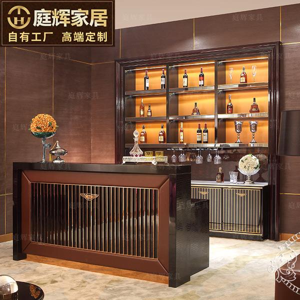 Nội thất phòng khách hiện đại gỗ rắn thanh kích thước lớn kết hợp phân đơn giản bằng thép không gỉ đồ nội thất tùy chỉnh - Bàn / Bàn