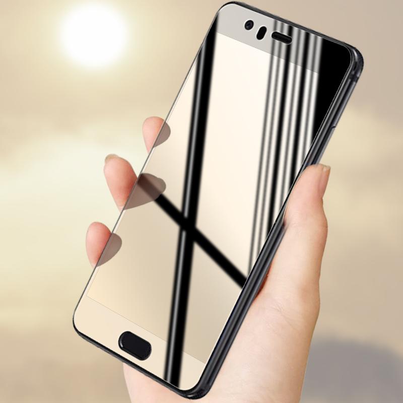 华为P10钢化膜抗蓝光高清防爆防指纹p10plus手机玻璃高清全屏贴膜