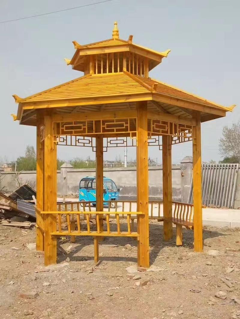 Wood preservative grape vines garden gazebo outdoor carbonized wood ...