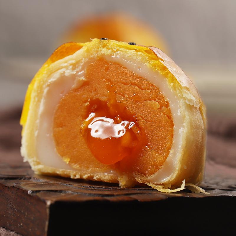 振野芝士留心酥6枚爆浆奶黄流心蛋黄酥网红糕点休闲零食小吃早餐,免费领取20元淘宝优惠卷