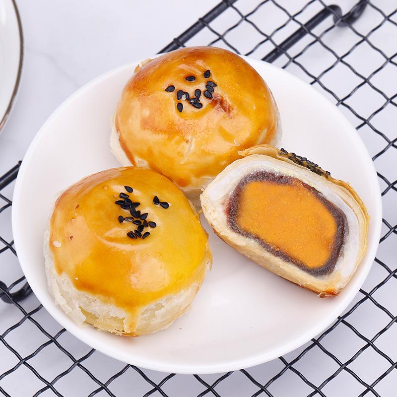 振野蛋黄酥6枚海鸭蛋黄雪媚娘麻薯糕点网红零食小吃早餐休闲食品,免费领取20元淘宝优惠卷