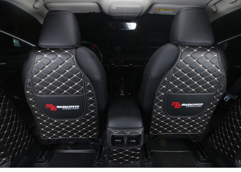 Thảm ốp sau ghế  và điều hòa sau Mazda 3 2020 - ảnh 11