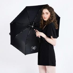 防晒紫外线黑胶太阳伞晴雨两用雨伞