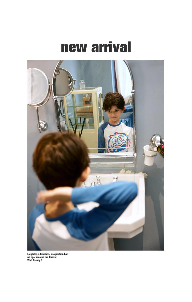 【五折抢购价:】小虎宝儿男童内衣套装新款儿童纯棉长袖详细照片