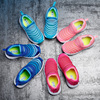 Babu bean family caterpillar shoes boys summer breathable mesh shoes girls sports shoes cutout children's baby shoes