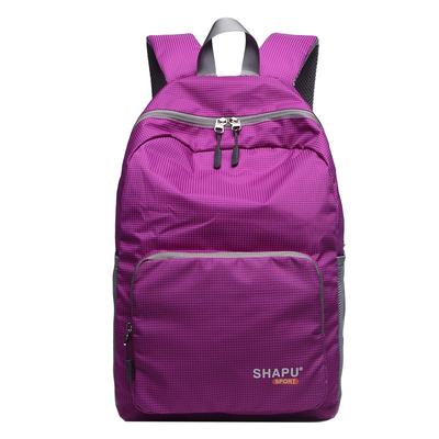 皮肤包女超轻户外双肩电脑背包防水折叠旅行包男运动登山便携书包