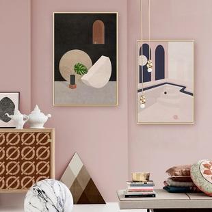 现代简约客厅壁画装饰画挂画北欧风格
