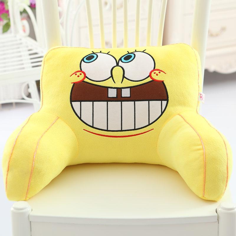 Цвет: Губка Боб смеется подушка