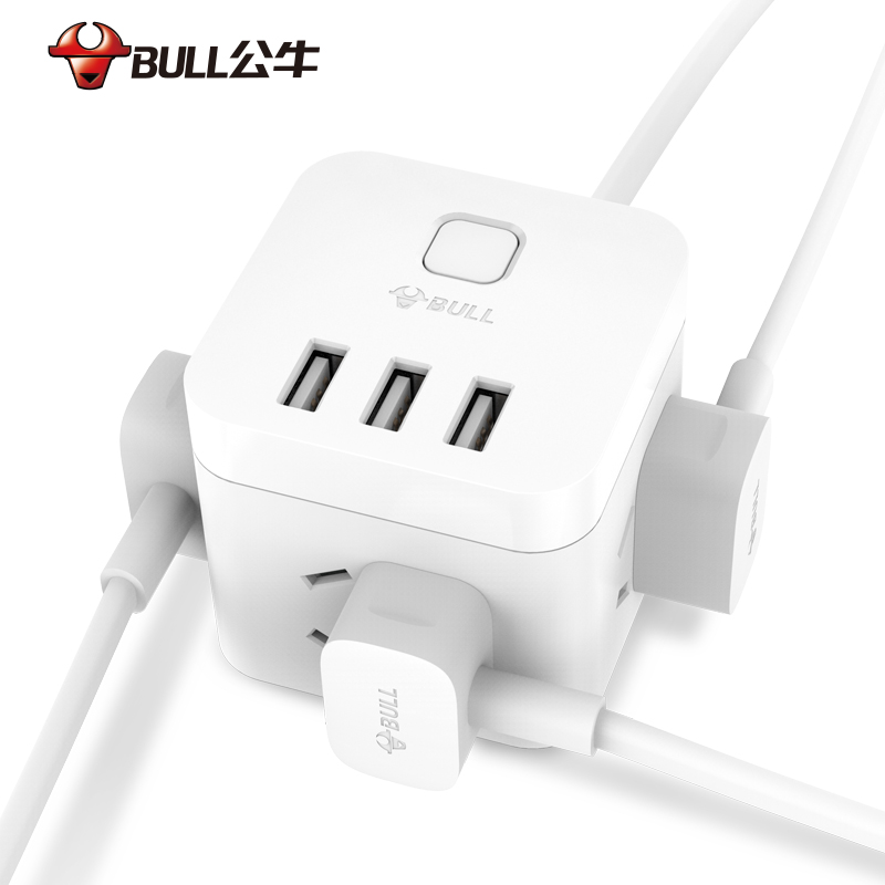 Bull Socket Magic with usb charger Multi-functional plug Power Line ...