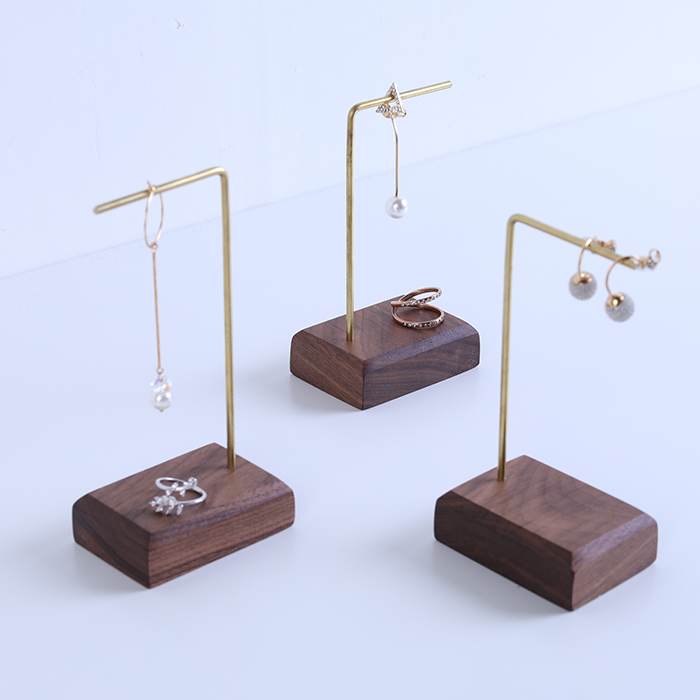 Exhibition Stand Jewelry : Jin se exhibition men and women earrings shelf display stand