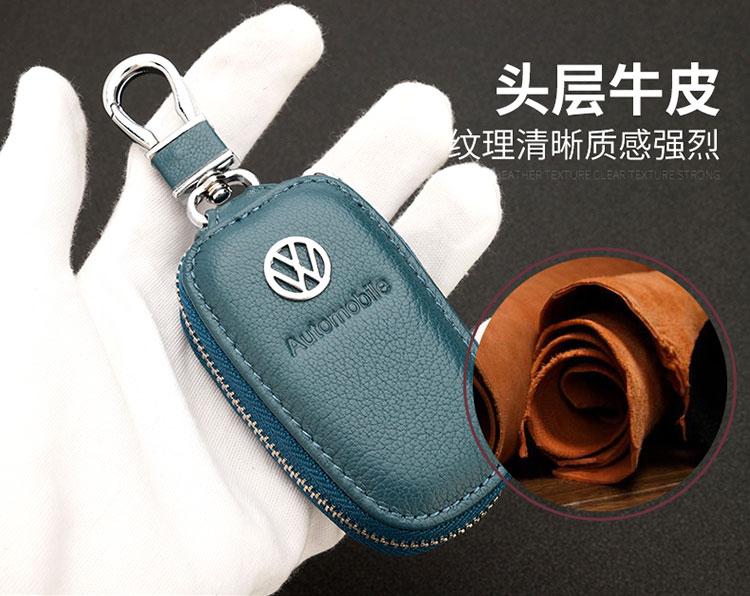 Bao da chìa khóa Peugeot 5008 4008 3008 408 308 - ảnh 6