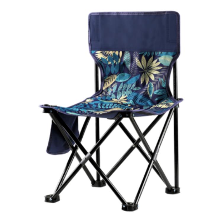 古山户外折叠板凳美术生马扎小凳子便携式靠背小椅子火车无座神器