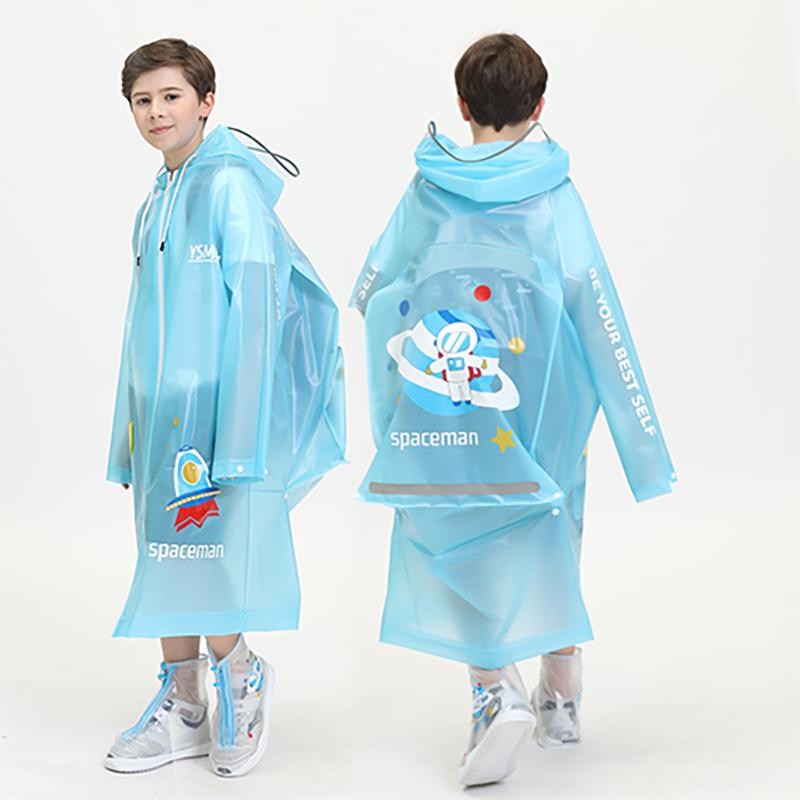 韩版儿童雨衣幼儿园小学生小孩雨衣防水大童雨披男女童背书包雨衣