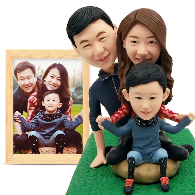 Полимерная глина куклы реальные куклы на заказ фото воск глиняная скульптура, поделки День Святого Валентина подарок свадебные на заказ