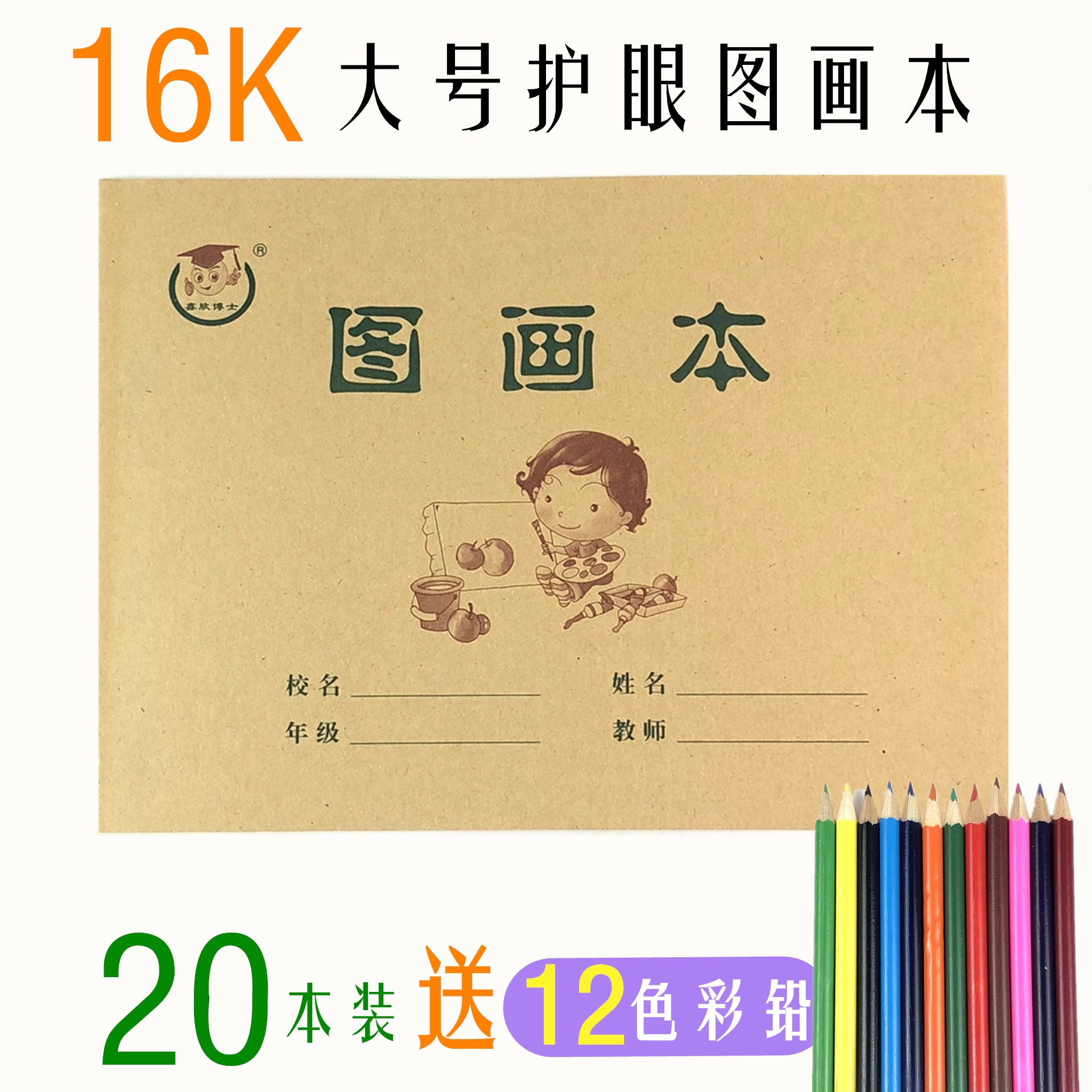 16K LARGE PICTURE BOOK (20 COPIES) TO SEND COLOR LEAD