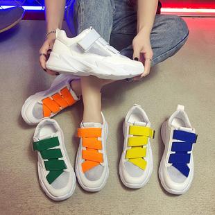 透气运动鞋女2019夏季新款