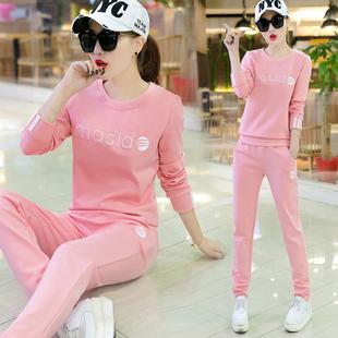 运动套装女秋季新款时尚休闲韩版长袖卫衣潮