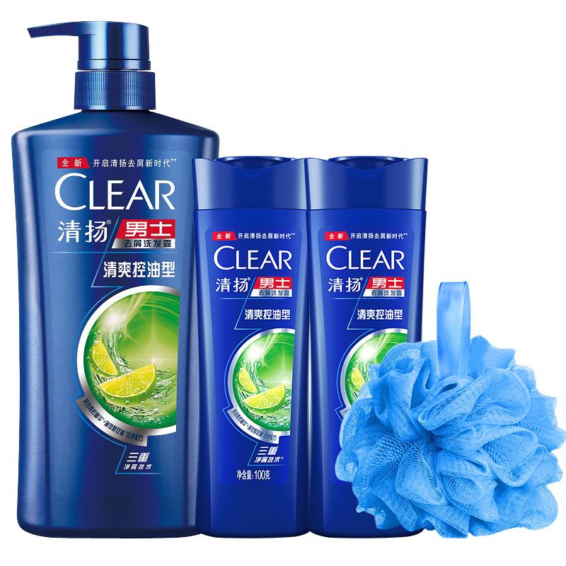 【清扬】男士去屑止痒洗发水露205g