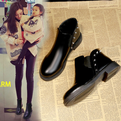 【李小璐同款】chic加绒女马丁靴短靴