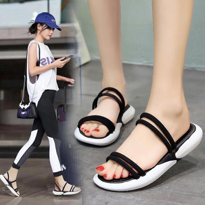 两穿韩版百搭休闲运动凉鞋