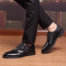 秋季皮鞋男韩版男士正装鞋