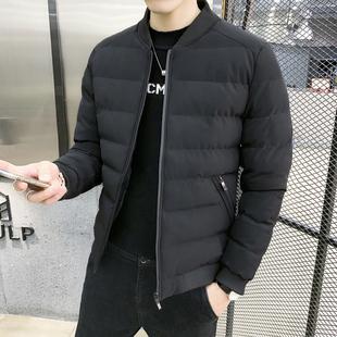男士外套冬季衣服加绒加厚韩版棉袄