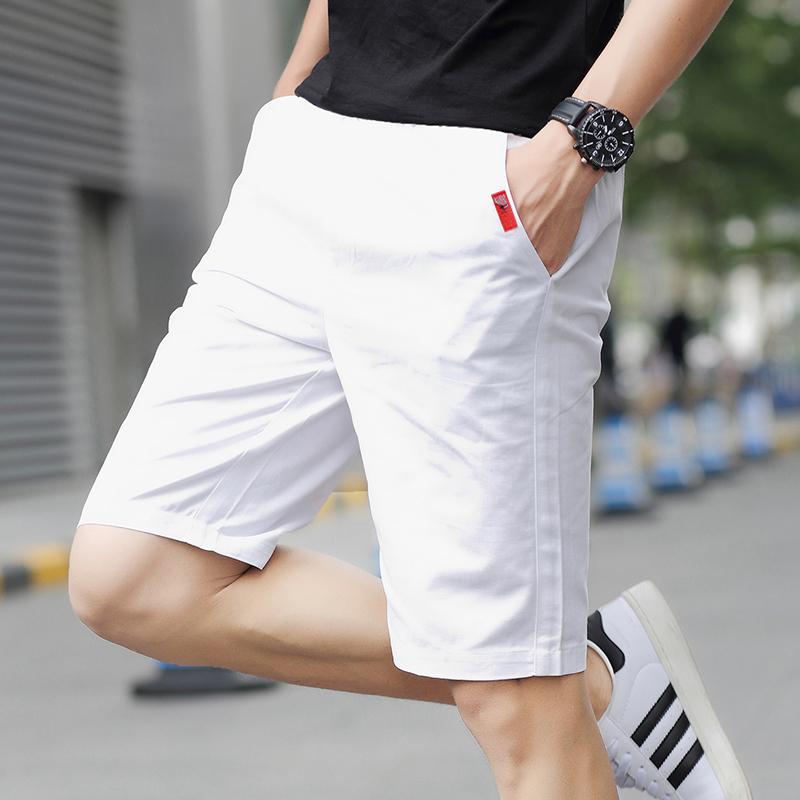 Shorts men's summer casual pants men's five pants men's seven pants loose beach pants trend big pants