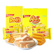 丽芝士印尼进口巧克力味威化饼
