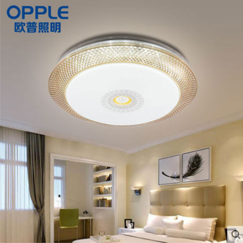 吸顶智能LED调光客厅卧会议室灯照明圆形欧普色爆款热销MX650悦和