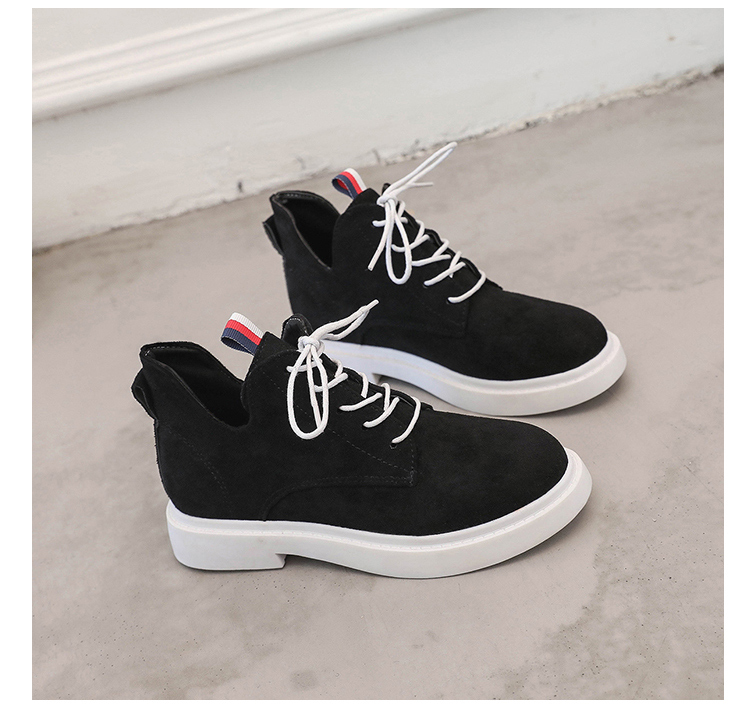 New single casual high-top round ankle boots 81