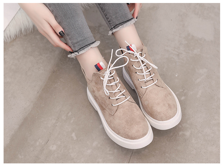 New single casual high-top round ankle boots 71
